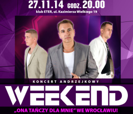plakat weekend e