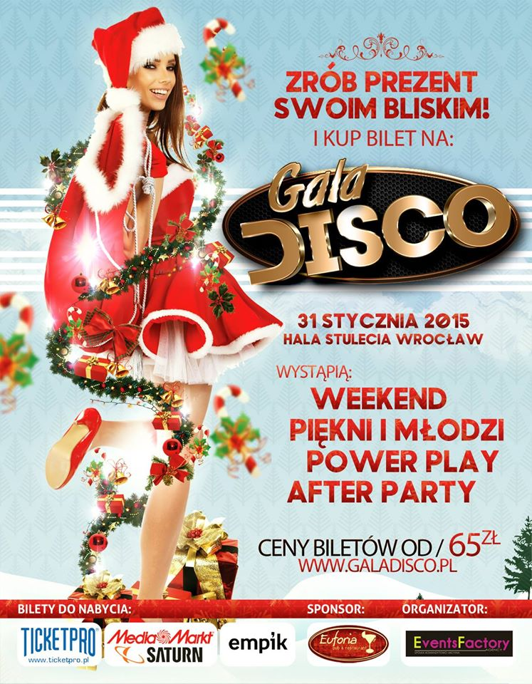 Plakat Gala Disco
