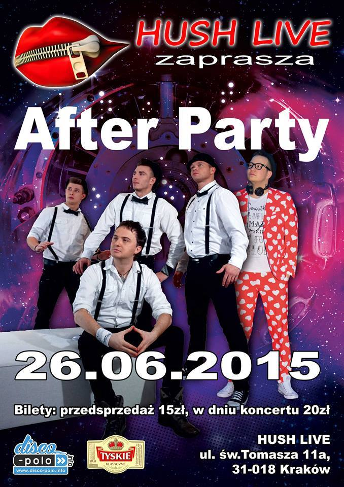 after party hush live