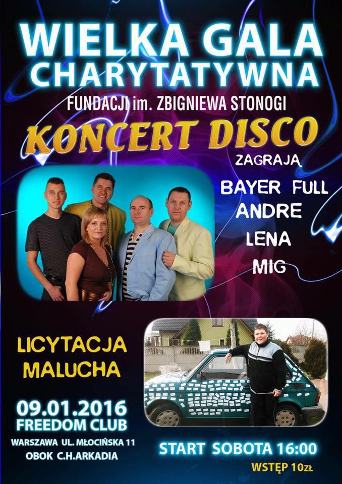 Gala charytatywna Zbigniewa Stonogi - Bayer Full - Mig - Andre - Lena