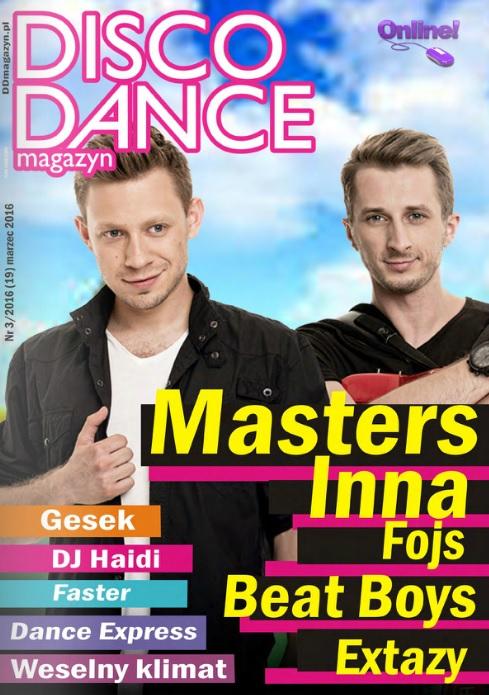 disco dance magazyn 3 duze