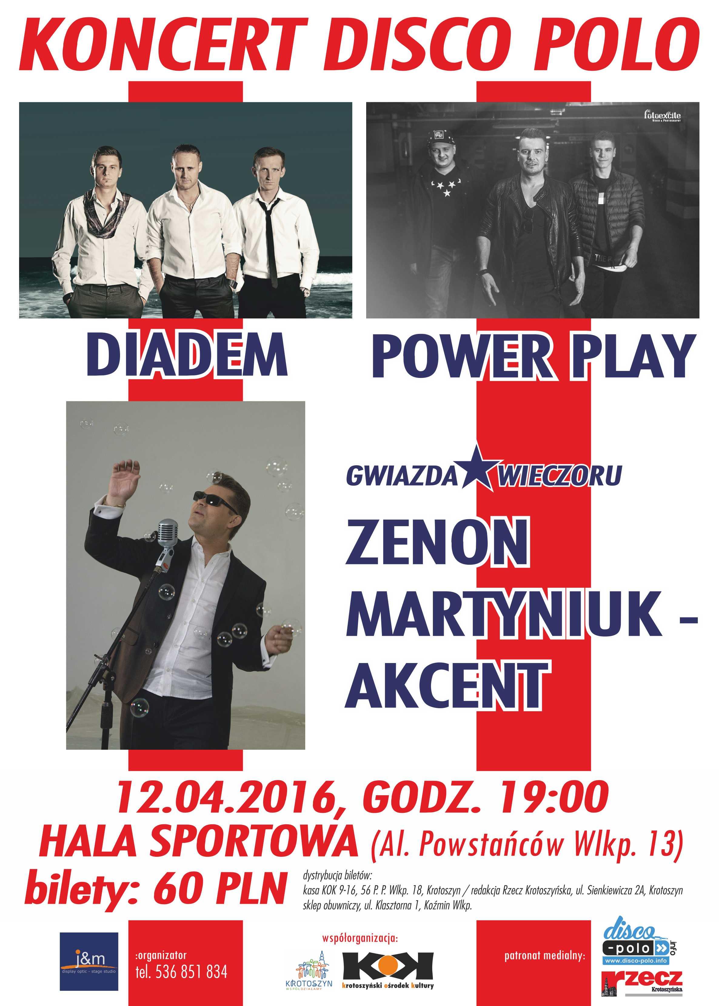 krotoszyn koncert disco polo plakat