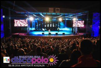 Wakacyjna Gala Disco Polo Amfiteatr Koszalin 6 sierpnia 2016