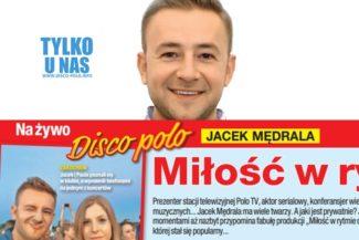 Jacek Mędrala ma wiele twarzy smaczki nowego Na żywo