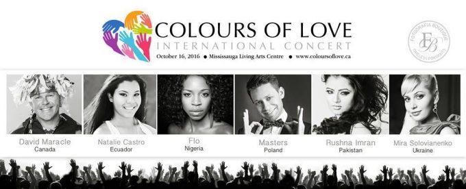 Colours of Love International Concert
