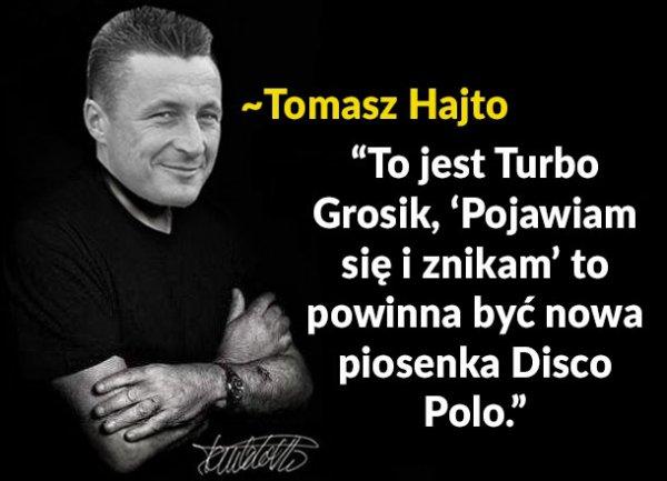 Kamil Grosicki twórcą disco polo
