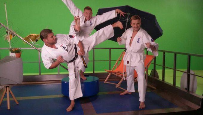 Karate Kid w wykonaniu Marcina