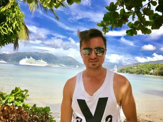 Mario Bischin na wakacjach
