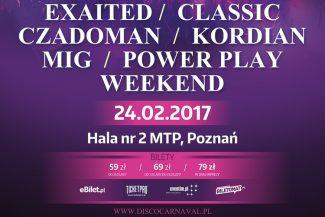 Disco Carnaval w Poznaniu 24 luty 2017