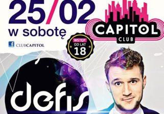 Koncert Club Capitol - 25 luty 2017 - Defis