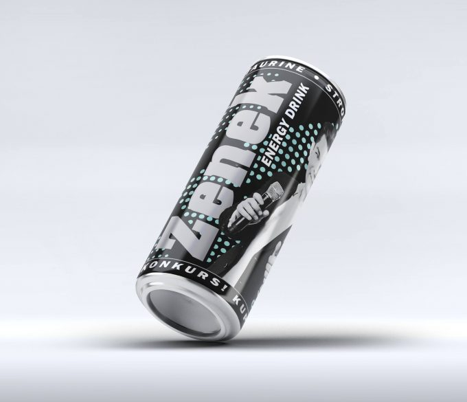 Zenek Energy Drink czyli król disco polo ze swoim produktem