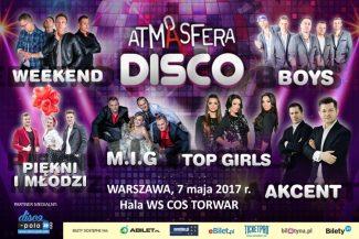 Już 7 maja DISCO ATMASFERA w Warszawie