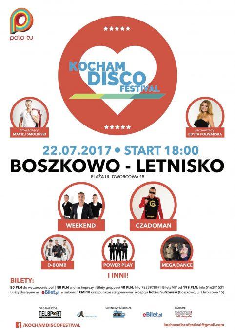 Kocham Disco Festival Boszkowo 2017