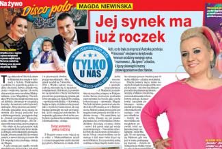 Magda Niewińska tygodnik Na żywo